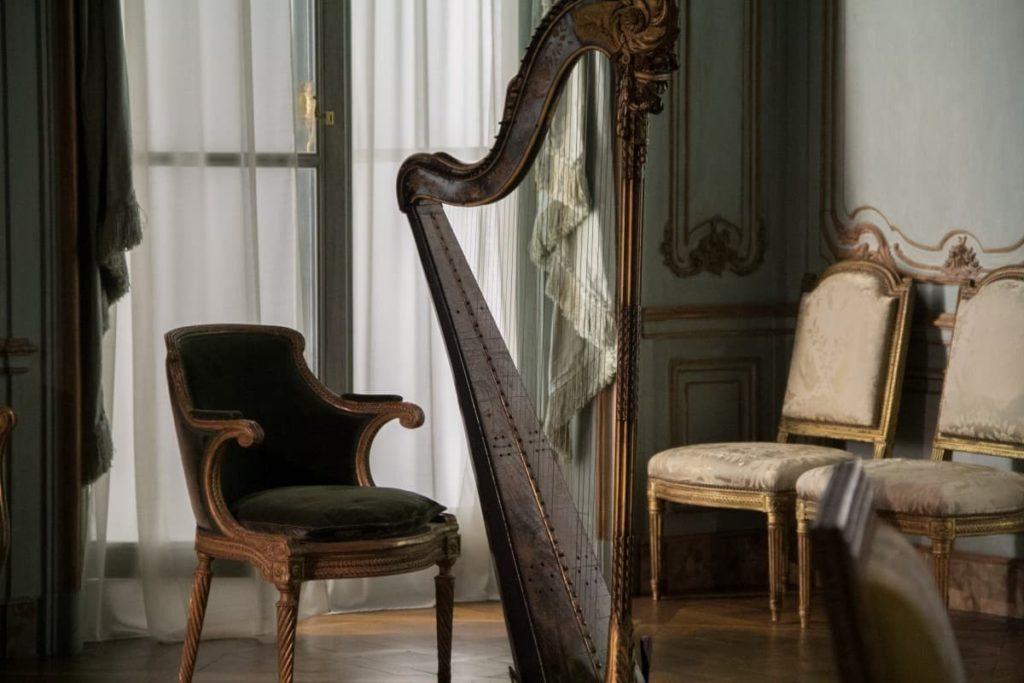 tissus pour le style Rococo