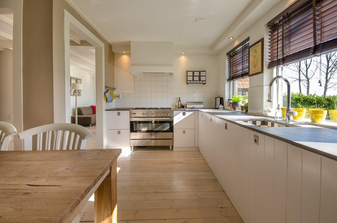 les 5 zones qui définissent une cuisine