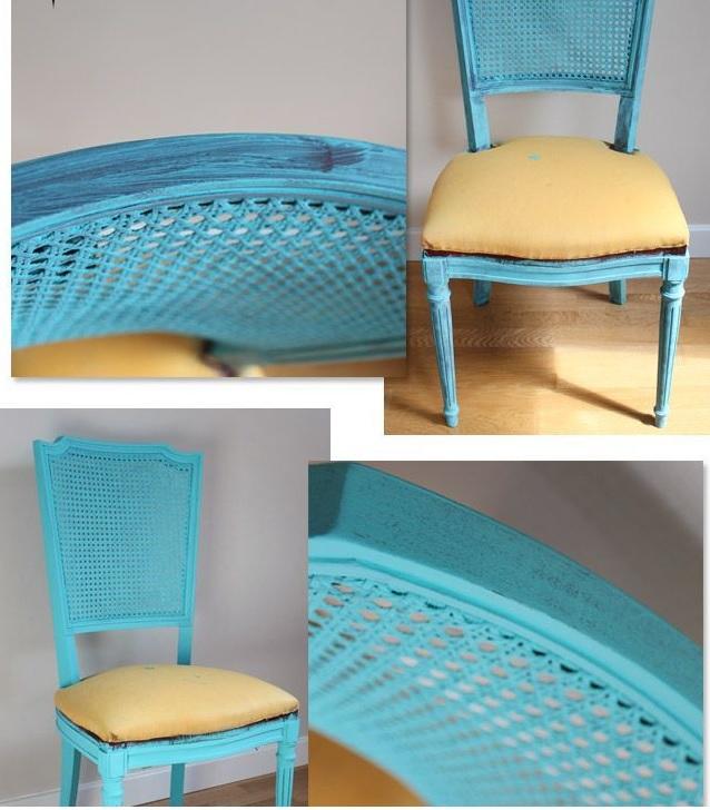 Eape peinture à la craie chaise et meubles