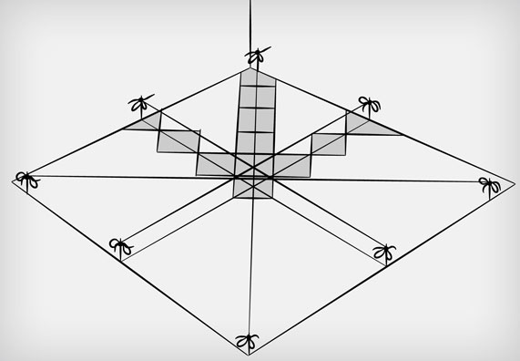 pose de carrealge en diagonal