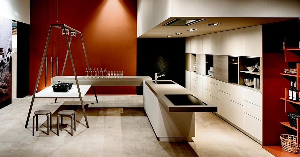 cuisine ouverte design moderne