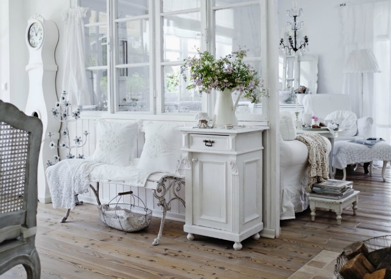 couleur shabby chic