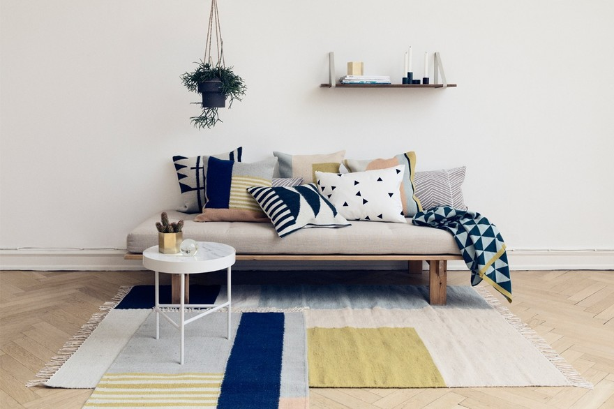 Tapis design scandinave